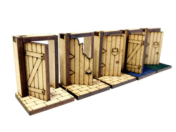 SET 28 MEDIEVAL DOORS  sc 1 st  funnymonkeythings & SET 28 MEDIEVAL DOORS - funnymonkeythings