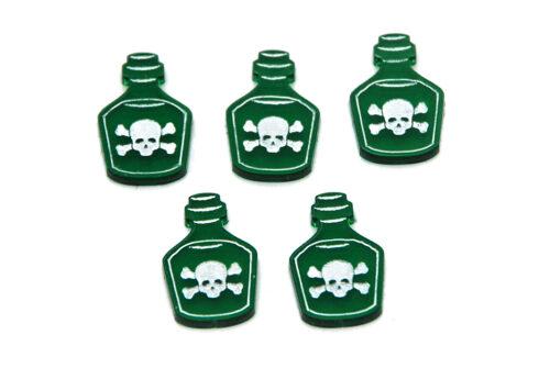 5 poison set