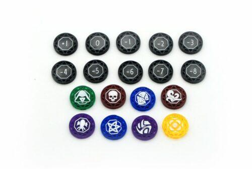 Set tokens caos Arkham