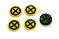 Set tokens Cable Domino Marvel Crisis Protocol