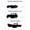 Miniatura Vehiculos Arkham Horror